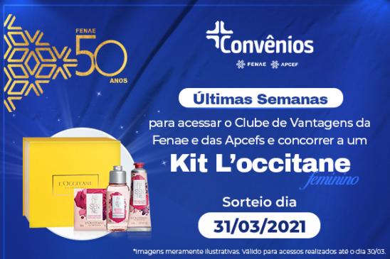 """Plataforma de Convênios traz kit sorteio de aniversário da Fenae no """"Mês da Mulher"""""""