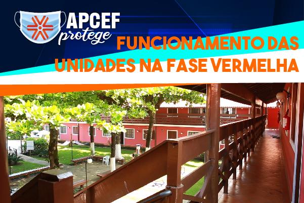 Com estado de São Paulo na fase vermelha, confira como fica o funcionamento dos espaços da Apcef/SP
