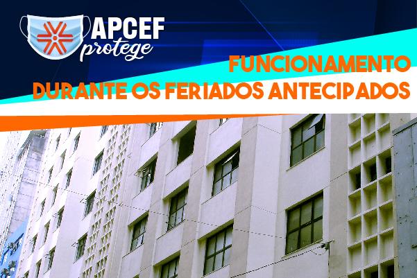 Na luta contra a Covid-19, Apcef/SP permanecerá fechada durante os feriados antecipados em São Paulo