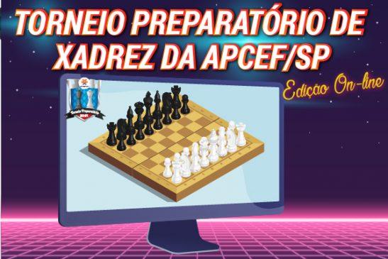 Primeira fase do Torneio de Xadrez foi encerrada no sábado (13). Confira os resultados