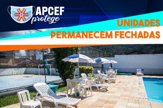 Em cumprimento às determinações da fase emergencial, espaços da Apcef/SP permanecerão fechados até 11 de abril