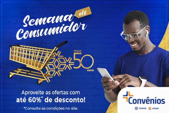Plataforma de Convênios oferece descontos especiais na Semana do Consumidor