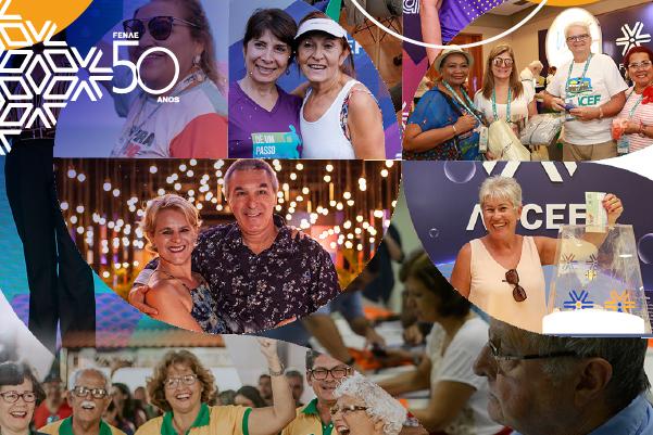 Fenae atua em movimento há 50 anos, sempre em defesa dos direitos dos aposentados da Caixa