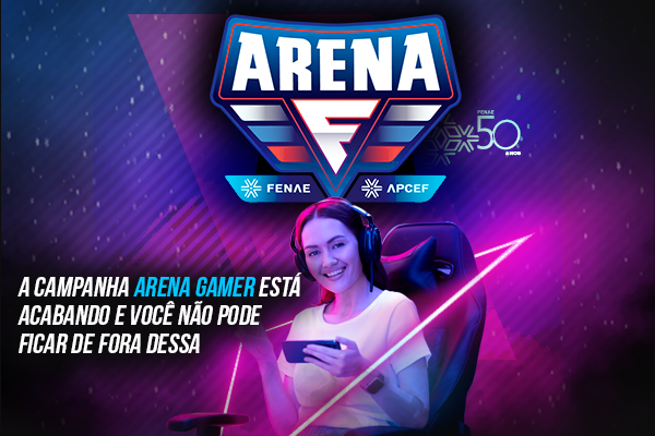 """""""Arena Gamer"""": campanha de interação avança para a 4ª semana com um Quiz"""
