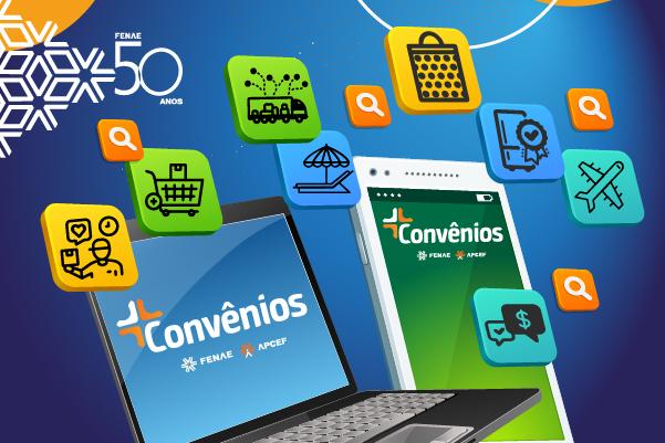 Fenae 50 anos: associados participam das ações promocionais na plataforma de convênio