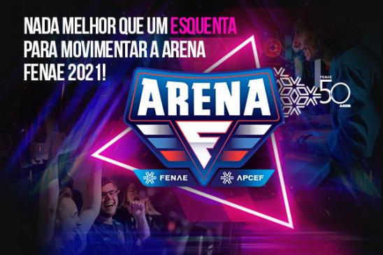 """Campanha de interação """"Arena Gammer"""" já disponível no aplicativo Viva Fenae/Apcef"""