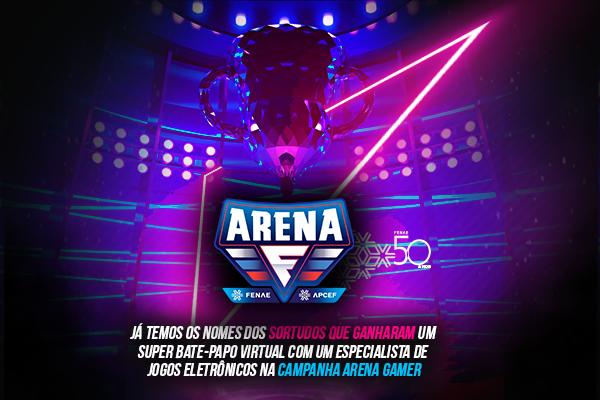 Conheça o resultado da campanha de interação Arena Gamer 2021