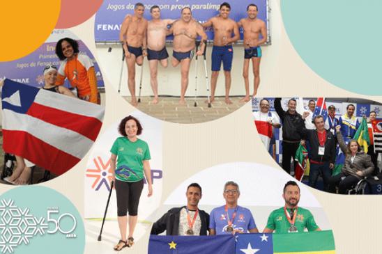 Fenae 50 anos: paratletas ganharam motivação com eventos esportivos nacionais inclusivos