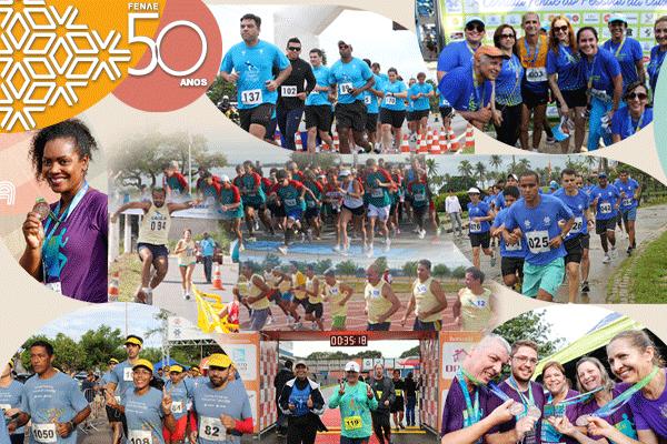 Fenae 50 anos: Corrida Fenae do Pessoal da Caixa motiva a prática de atividade esportiva e integra associados das Apcefs