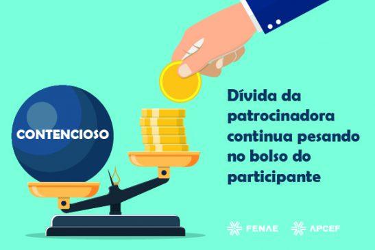 Contencioso: dívida da Caixa prejudica participantes e, indiretamente, compromete eleições da Funcef