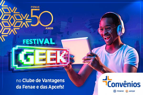 Games, cultura pop e quadrinhos são alguns dos produtos com descontos especiais na plataforma de convênios da Fenae e Apcefs
