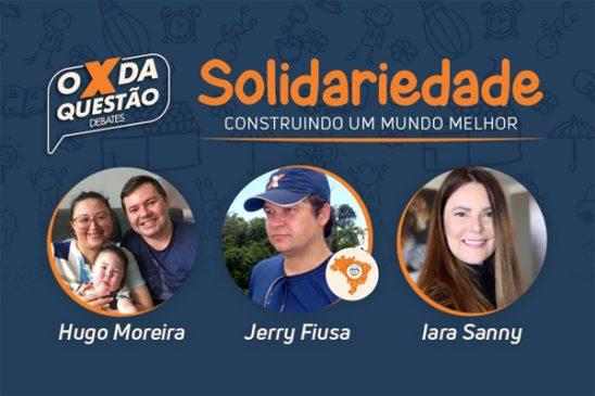 Live aborda solidariedade e conta com a participação do pai do pequeno Heitor