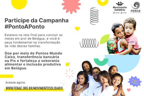 """Movimento Solidário lança a campanha """"Ponto a Ponto"""" para concluir os últimos projetos em Belágua, Maranhão"""