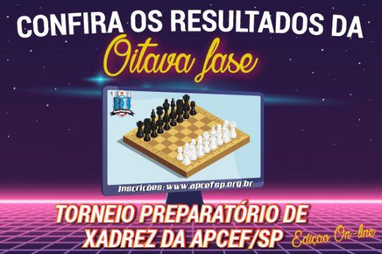 Oitava fase do Torneio de Xadrez foi encerrada em 13 de junho. Confira os resultados