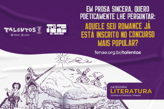 Talentos Fenae/Apcef: concurso cultural oferece oportunidade de expor sentimentos e ideias