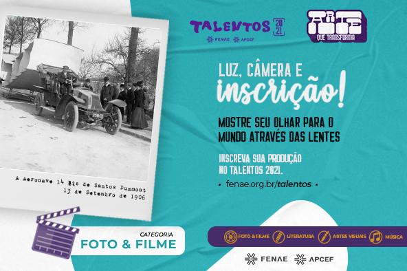 Foto, filme, desenho, literatura ou música? Escolha sua arte e participe do Talentos 2021