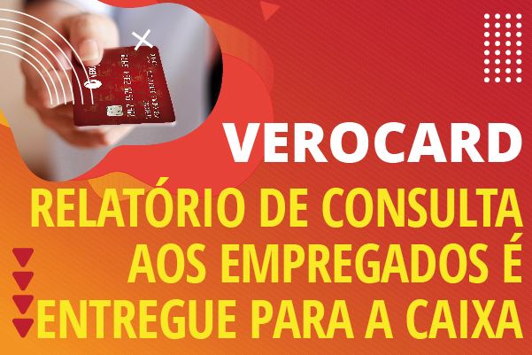 Apcef/SP entrega relatório de consulta aos empregados sobre a Verocard à Caixa