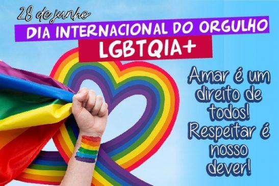 Dia 28 de junho é marco na luta pelos direitos LGBTQIA+