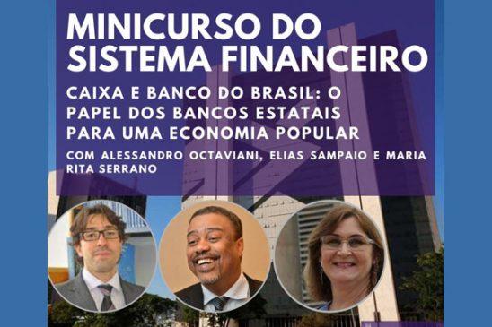 Rita Serrano ministra aula sobre papel dos bancos estatais nesta terça (1)