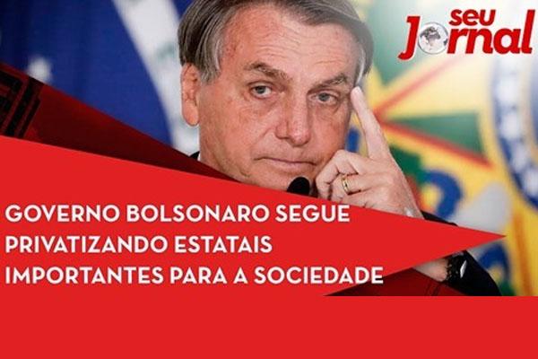 Prejuízos da privatização são destaque no Seu Jornal, da TVT