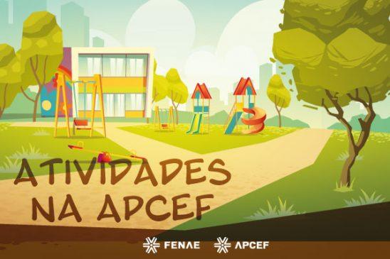 Nas férias de julho, Apcefs promovem diversão e arte para crianças e adultos