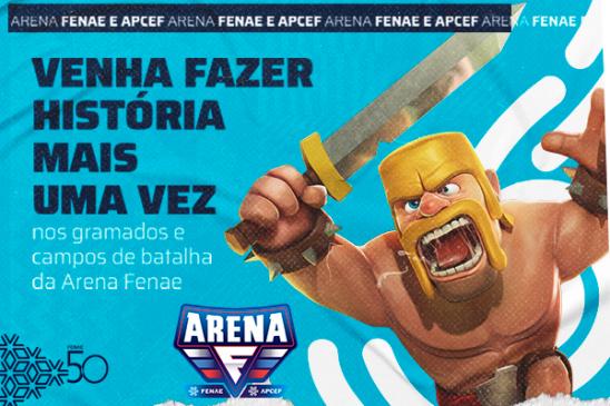 Segunda temporada da Arena Fenae vem aí com mais interações e novidades