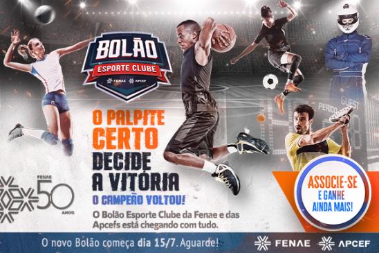 Vem aí o Bolão Esporte Clube Fenae/Apcef 2021