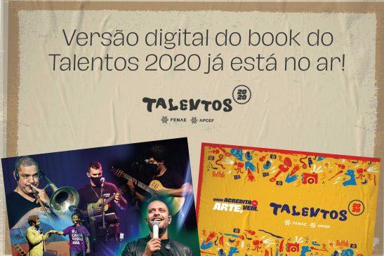 Versão digital do book do Talentos Fenae/Apcef 2020 está no ar!