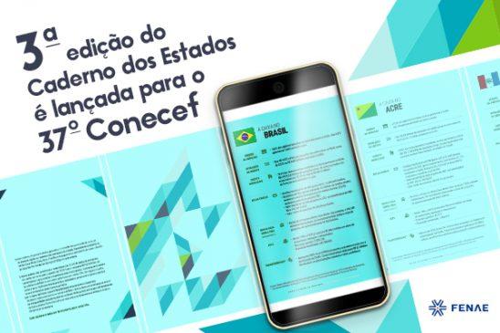 Fenae lança 3ª edição do Caderno dos Estados para o Conecef