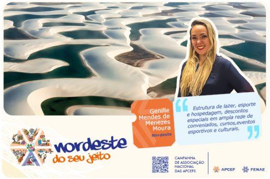 """""""Apcef do seu jeito"""": empregada Caixa do Maranhão revela os benefícios ser associado da Apcef"""