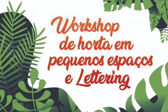 Portas Abertas deste mês contará com workshop de horta em pequenos espaços e lettering