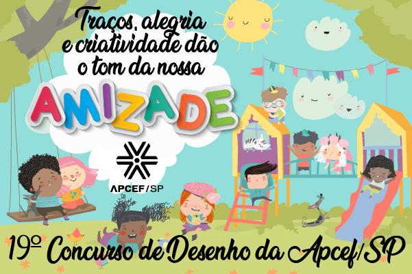 Estão abertas as inscrições para a 19ª edição do Concurso de Desenho Infantil da Apcef/SP