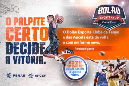 Corre lá, você já pode palpitar no Bolão Esporte Clube Fenae!