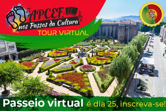 Tour virtual de agosto leva associados para Porto mais três cidades de Portugal. Vagas limitadas!