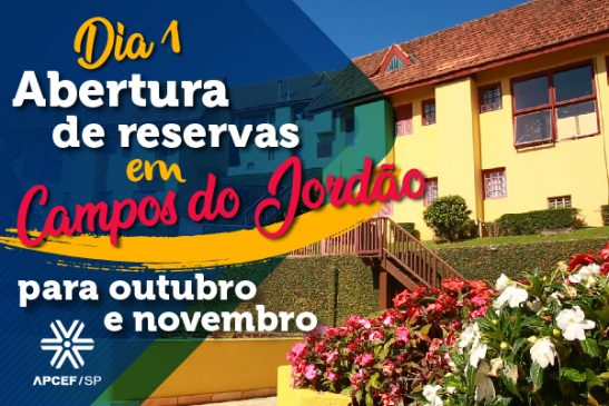Reservas para hospedagem em outubro e novembro em Campos do Jordão serão abertas dia 1º