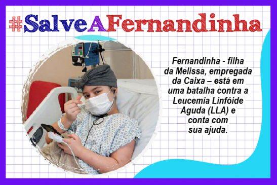#SalveAFernandinha: menina embarca para a Espanha para iniciar tratamento que pode salvar sua vida