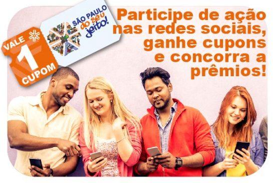 Apcef do seu jeito: siga a Apcef/SP nas redes sociais, ganhe cupons e concorra a prêmios