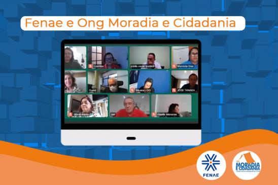Fenae e ONG Moradia e Cidadania debatem execução de projetos de desenvolvimento sustentável