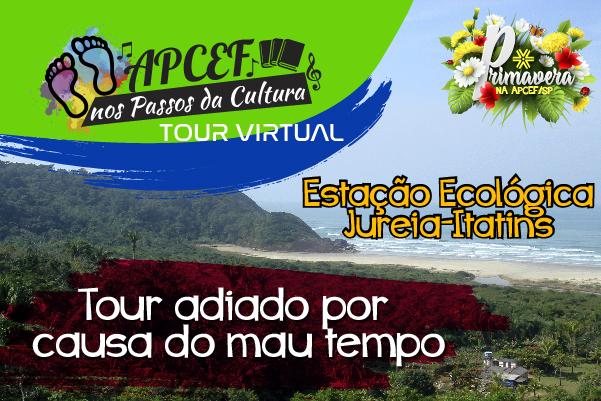 Tour pela Estação Ecológica Jureia-Itatins é adiado por causa do mau tempo
