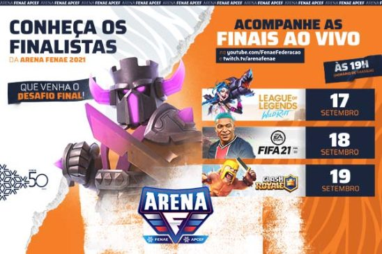 Finais da Arena acontecem neste fim de semana