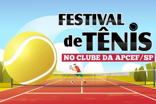 Setembro tem Festival de Tênis no clube da capital. Inscrições abertas!