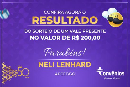 Convênios: ganhador do sorteio do mês dos pais é da Apcef de Goiás