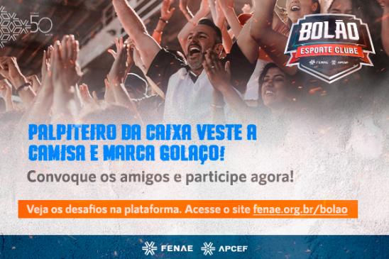 Bolão Fenae/Apcefs: Qual é o seu palpite para a 20ª rodada do brasileirão?
