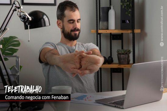 Comando Nacional apresenta pesquisa sobre teletrabalho para Fenaban