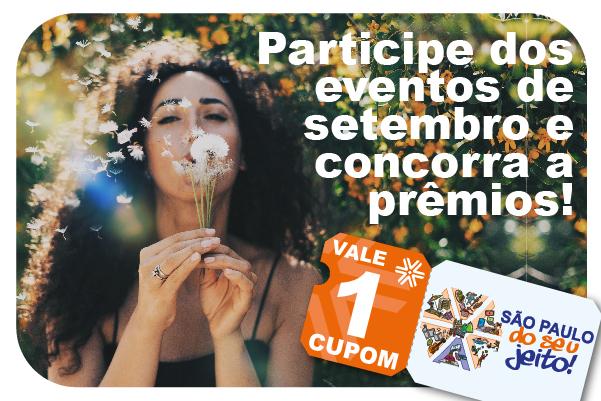 Apcef do seu jeito: participe dos eventos de setembro e concorra a prêmios