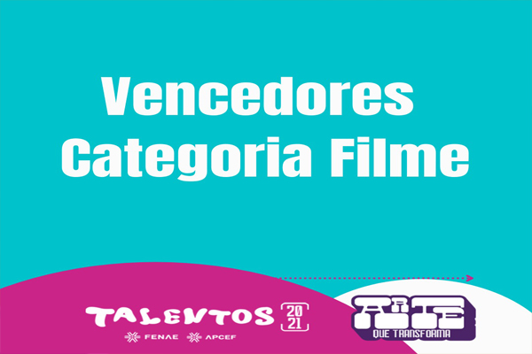 Muita alegria marca premiação dos vencedores da categoria Filme da fase estadual do Talentos