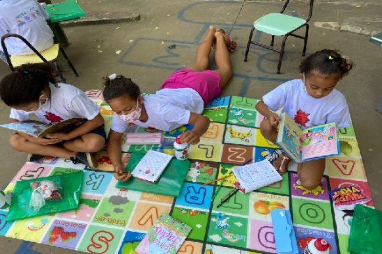 Flor de Mandacaru, projeto com parceria da Fenae, promove educação para crianças de região em situação de vulnerabilidade no Piauí