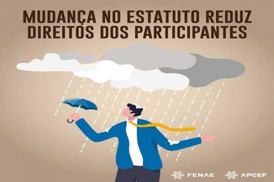 Com mudança do estatuto, Funcef reduz direitos dos participantes do REG/Replan não saldado