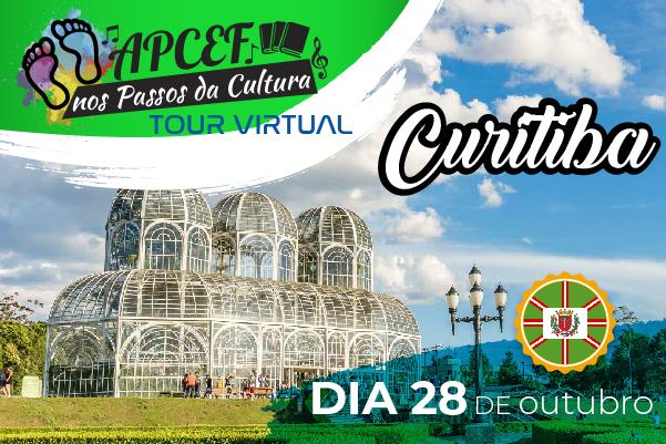 Edição de outubro do Apcef nos Passos na Cultura leva você para Curitiba