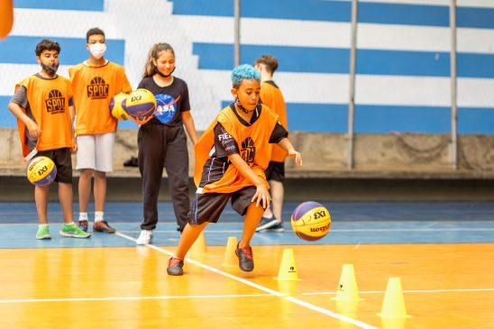 Primeira escolinha para formação de atletas para o basquete 3×3 inicia aulas no clube